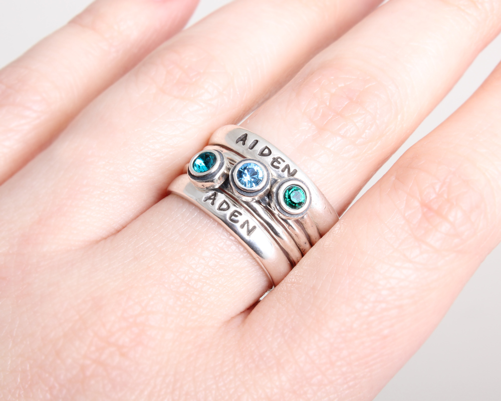 How to Size Stackable Rings