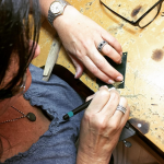 jewelry making behind the scenes
