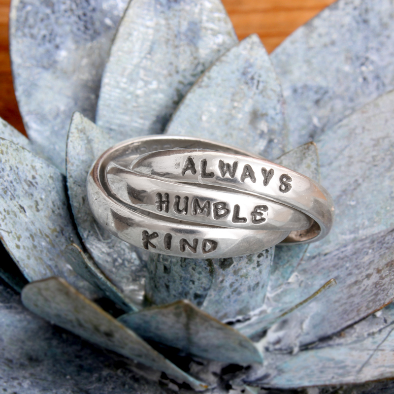 always humble kind jewelry ring