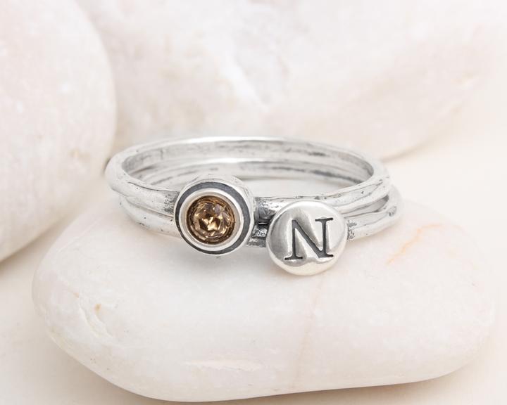 Topaz Birthstone Ring